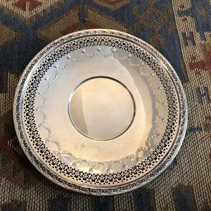 Reed & Barton silver tray plate